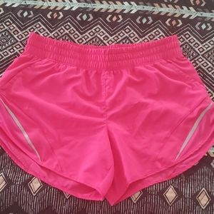 Nowt Hot Pink Workout Shorts